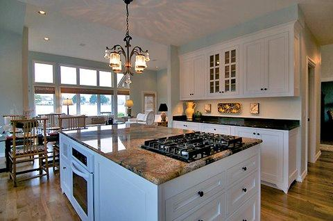 Kitchen with LED Lighting electrician in Congleton