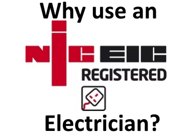 Why Use an NICEIC Registered Electrician in Congleton, Cheshire?